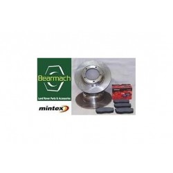 Discovery 3 Front Brake Discs and Mintex Brake Pads Set