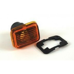 Defender TDi Amber Side Wing Repeater Indicator Lamp Lens PRC9916