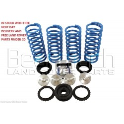 Range Rover P38 Air Bag to Coil Spring Conversion Kit Plus +2 Inch Lift