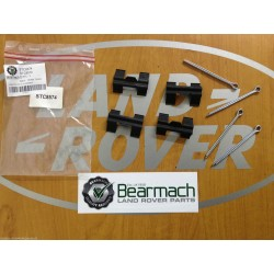 Defender 90 Bearmach Rear Brake Pad Pin Fitting Kit 89-98 200 300 TDi