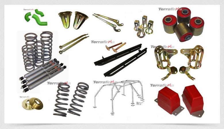 Terrafirma Parts for Land Rovers