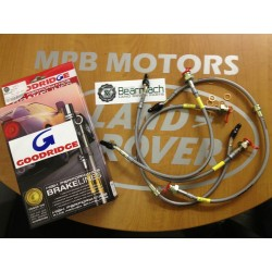 Discovery 2 + 50mm Extended Braided Performance Brake Hoses