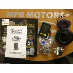 T Max Dual Battery Split Charge System