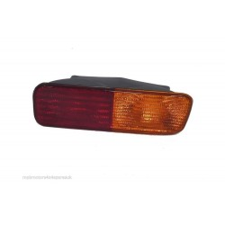 Landrover Discovery 2 O/S Rear Bumper Light Amber Indicator XFB10148