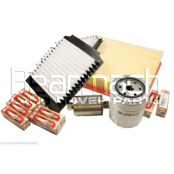 Range Rover P38 4.0/4.6 V8 Service Filter Kit inc Spark Plugs