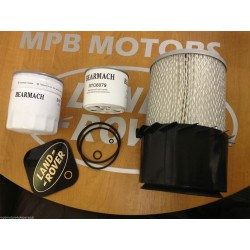 Land Rover 2.5 D/TD Service Kit: Oil, Air, Fuel, Filter, Sump Washer
