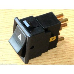 Defender 90/110 Tdi/Td5 1980-2010 Hazard Warning Light Switch YUF101490