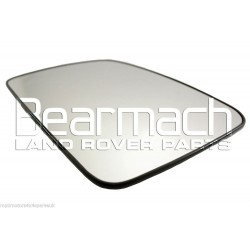 Discovery 3 L/H Passenger Side Convex Door Mirror Glass