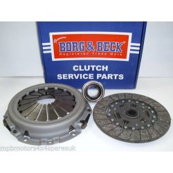 Defender 2.5D 3 Piece Borg And Beck Clutch Kit STC8358